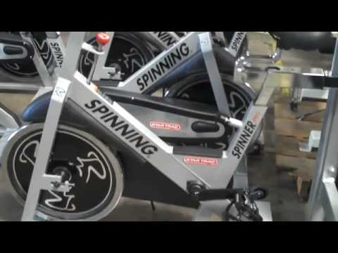 used star trac pro spinning bikes refurbished for sale youtube. Black Bedroom Furniture Sets. Home Design Ideas