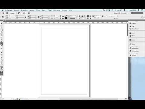 Adobe InDesign - Basis uitleg