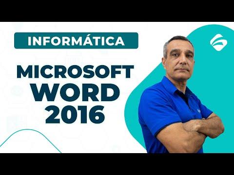 Microsoft Word 2016 - Parte 2 - Informática Para Concursos