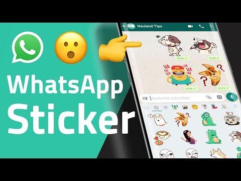 WhatsApp Sticker sind da! Fingerabdruck-Sperre kommt!