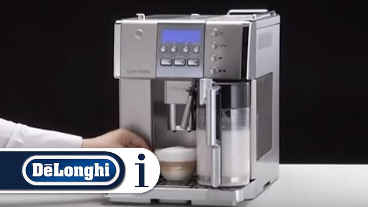how to make a cappuccino in your de longhi primadonna esam 6620 rh youtube com DeLonghi Magnifica ESAM3500 Magnifica DeLonghi Coffee Maker
