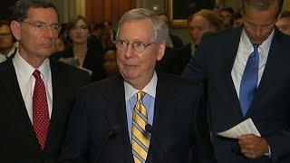Senate GOP works to revise health care plan