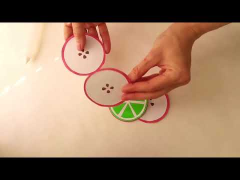DIY CRAFTS WITH FRUITS SHAPES  CRAFT PAPERS !!!!