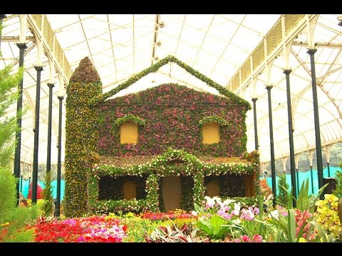 Bangalore lalbagh flower show January 2016-Republic day special