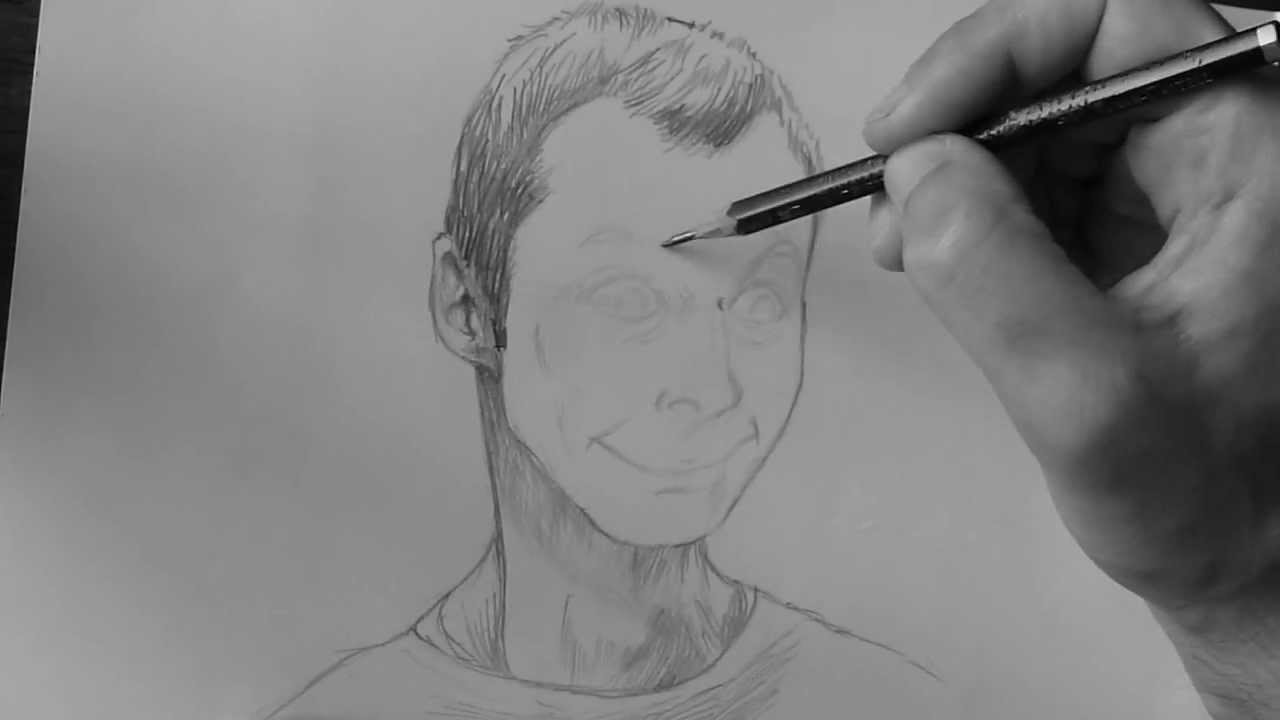 Drawing: Sheldon Cooper Creepy Smile - YouTube