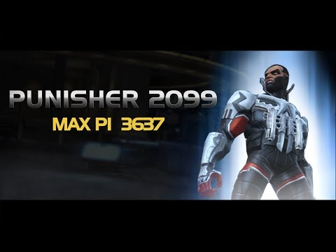Punisher 2099 Special Moves | Marvel Contest of Champions