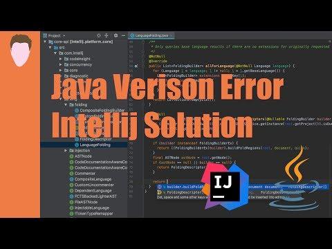 Easy Fix - Error: Java: Invalid Target Release: 11 - IntelliJ IDEA