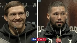 PRESS CONFERENCE! Oleksandr Usyk vs Tony Bellew 🥊(Plus undercard)