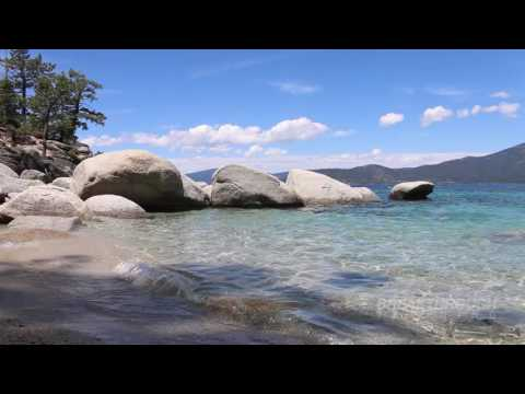 Lake Tahoe Beach Relaxation Music Video