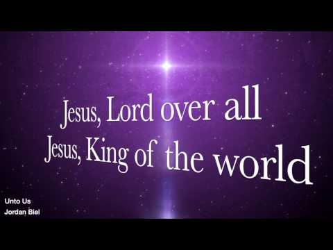 Unto Us  Christmas Worship Song  Lyric Video Resolution 720p  FREE DOWNLOAD