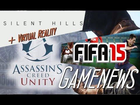 BUDDYS GAMENEWS - SilentHill Virtual Reality ! Ezio in Unity und mehr.