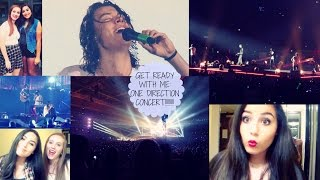 Get Ready With Me: ONE DIRECTION CONCERT!