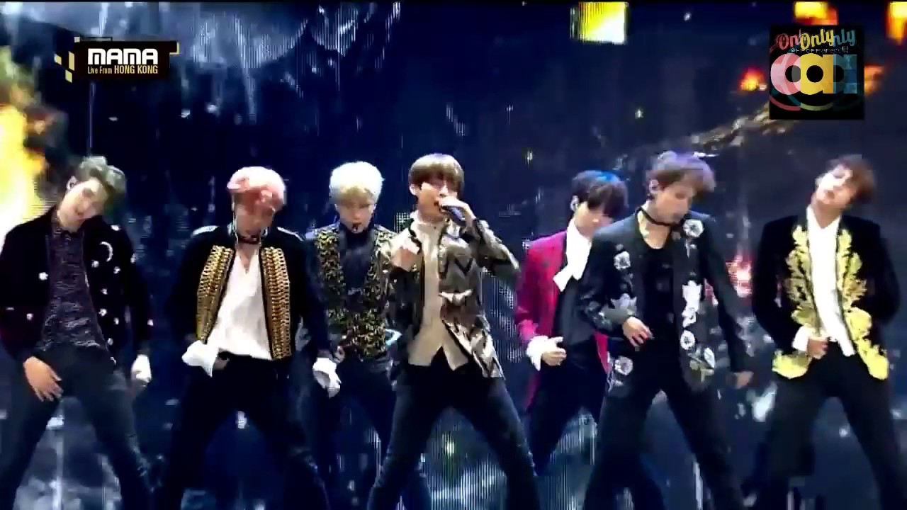 161202 BTS Blood Sweat & Tears 2016 MAMA