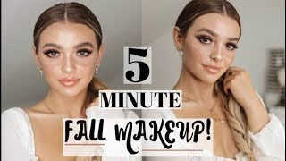Quick & Easy Fall Makeup Tutorial 2018! Kelsey Simone