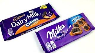 Молочний шоколад Мілка Орео Орео проти шоколаду