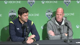 Press Conference: Tottenham Hotspur Head Coach Mauricio Pochettino & Goalkeeper Brad Friedel