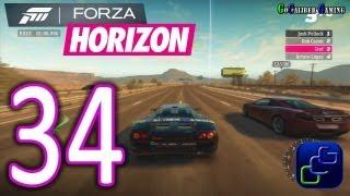Forza Horizon Walkthrough - Part 34 - Street Race: Freeway Blast