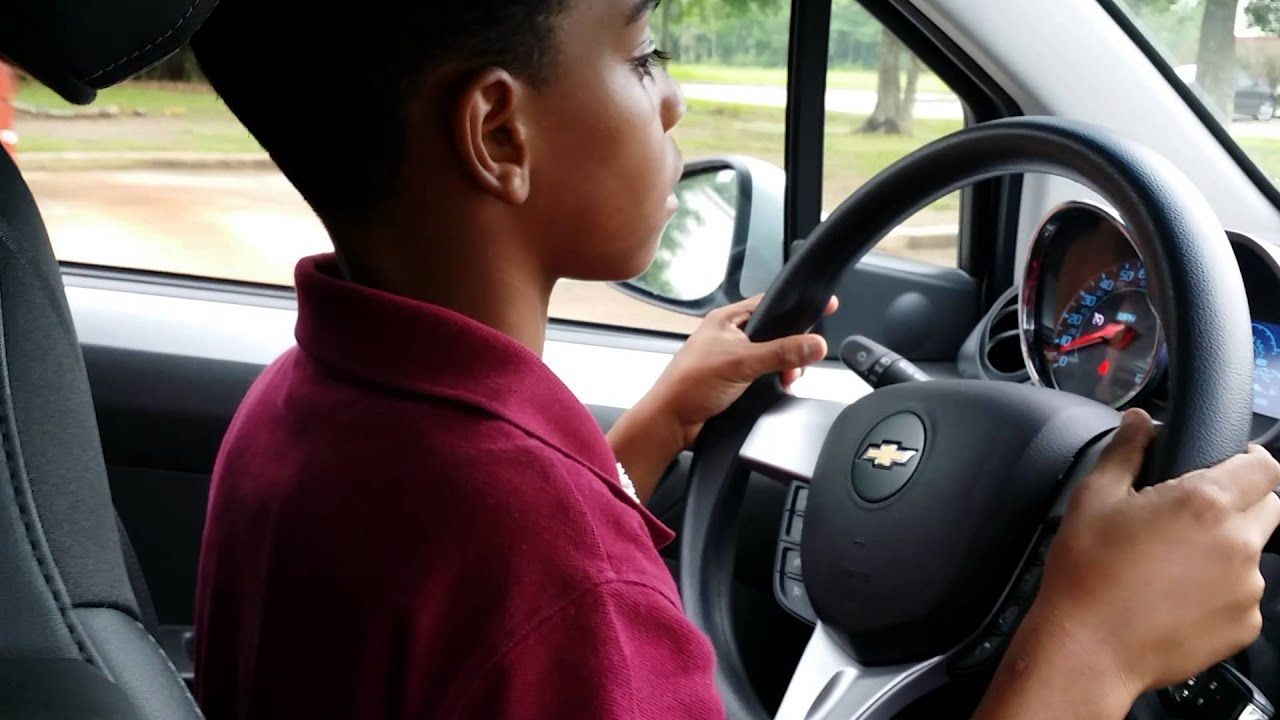 Teaching My 8 Year Old Son To Drive!