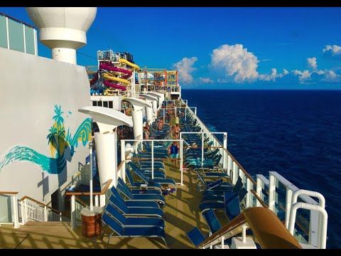 Norwegian Breakaway Cruise VLOG July 31, 2016 -- Bermuda