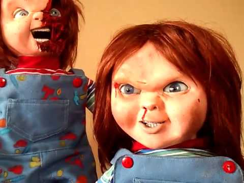 CHUCKY REPLICA INTENTIONAL SOUND PAUSES BUTON 1 FOR SALE 2014