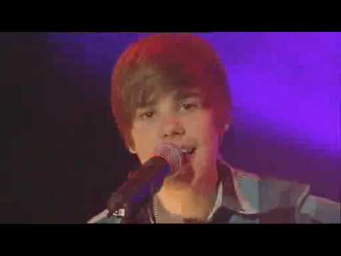 Justin Bieber's Live Performance On GMTV- One Time (MY Heart Edition)