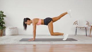 Kayla Itsines's 4-Week No-Equipment Workout Plan, Weeks 2 and 4: 28-Minute Leg Workout