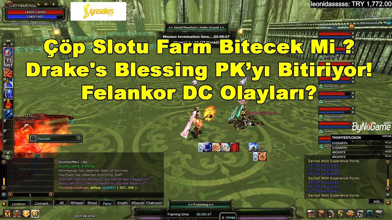 BvB Başkanı KutluBilge - Çöp Slotu Farm, Drake's Blessing Ve GB Hakkında Konuşuyor! | Knight Online