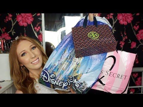 HUGE Florida Haul 2018!   Disney, Sephora, Victoria's Secret, Tory Burch...