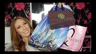 HUGE Florida Haul 2018! | Disney, Sephora, Victoria's Secret, Tory Burch...
