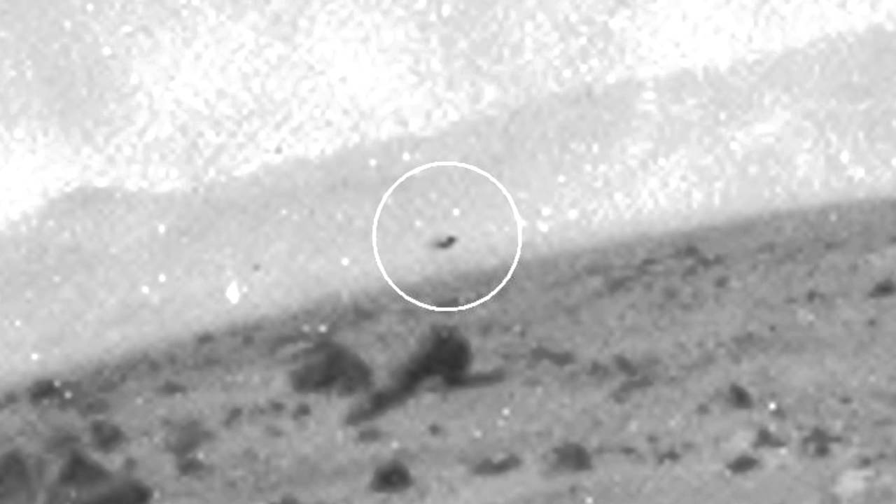 UFO or Bird on Mars Sol 358? - YouTube