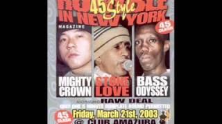 Mighty crown vs stone love vs bass odyssey 2003 pt1.