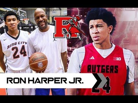 Fil-AM SG Ron Harper JR Highlights | Rutgers Commit