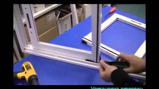 видео Раздвижные окна на балкон: алюминевые, пластиковые системы, монтаж, как мыть