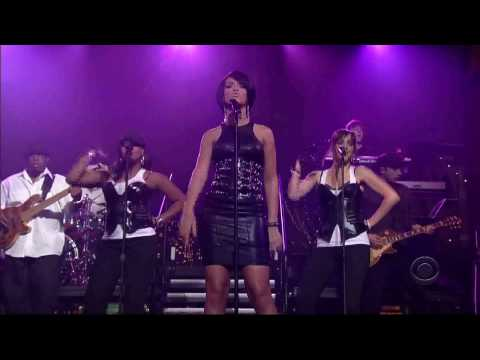 Rihanna - Shut Up And Drive [LIVE @ Letterman]