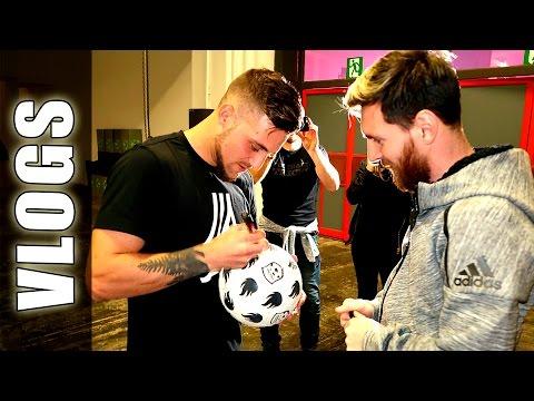 Fútbol con Leo Messi & GuidoFTO (BACKSTAGE) - Football Tricks Online
