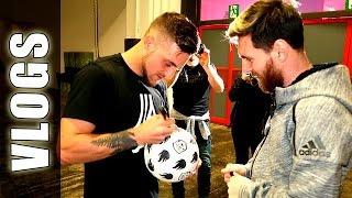 Fútbol con Leo Messi & GuidoFTO (BACKSTAGE) - Football Tricks Online(BACKSTAGE de Football Tricks Online, Leo Messi con GuidoFTO Ojeadores de trucos de Fútbol calle, goles & jugadas! Golazo de Lionel Messi & presenta sus ..., 2016-12-01T17:29:31.000Z)