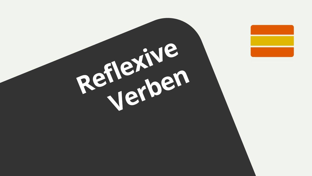Grammatik - Übung - Reflexive Verben | Spanisch | Grammatik - YouTube