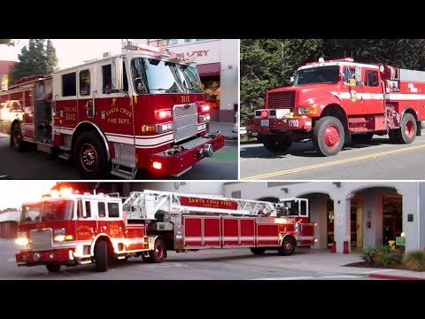 Fire Engines Responding Compilation -BEST OF 2017-