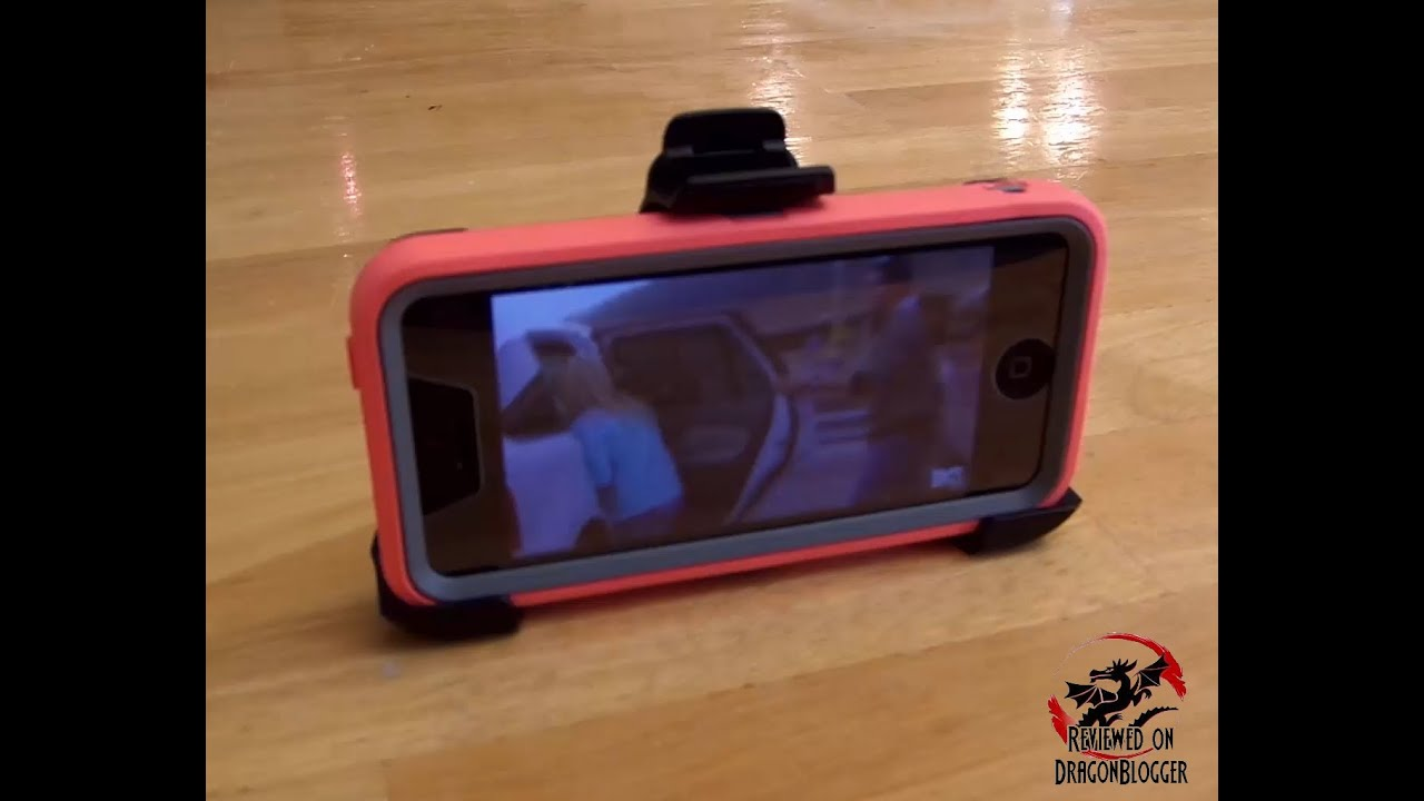best sneakers fd34d 9ee5c Watching videos on iPhone 5c with Otterbox Defender Kickstand