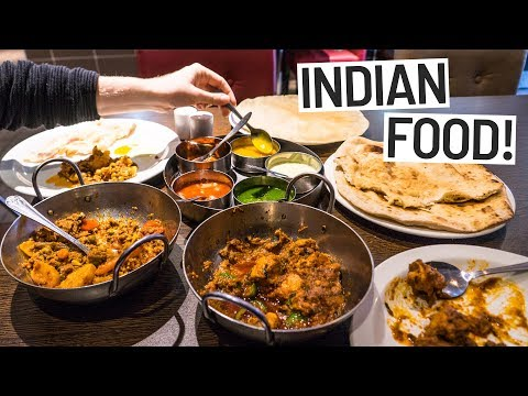 Americans Try Balti! - Delicious Indian Food in Birmingham, England
