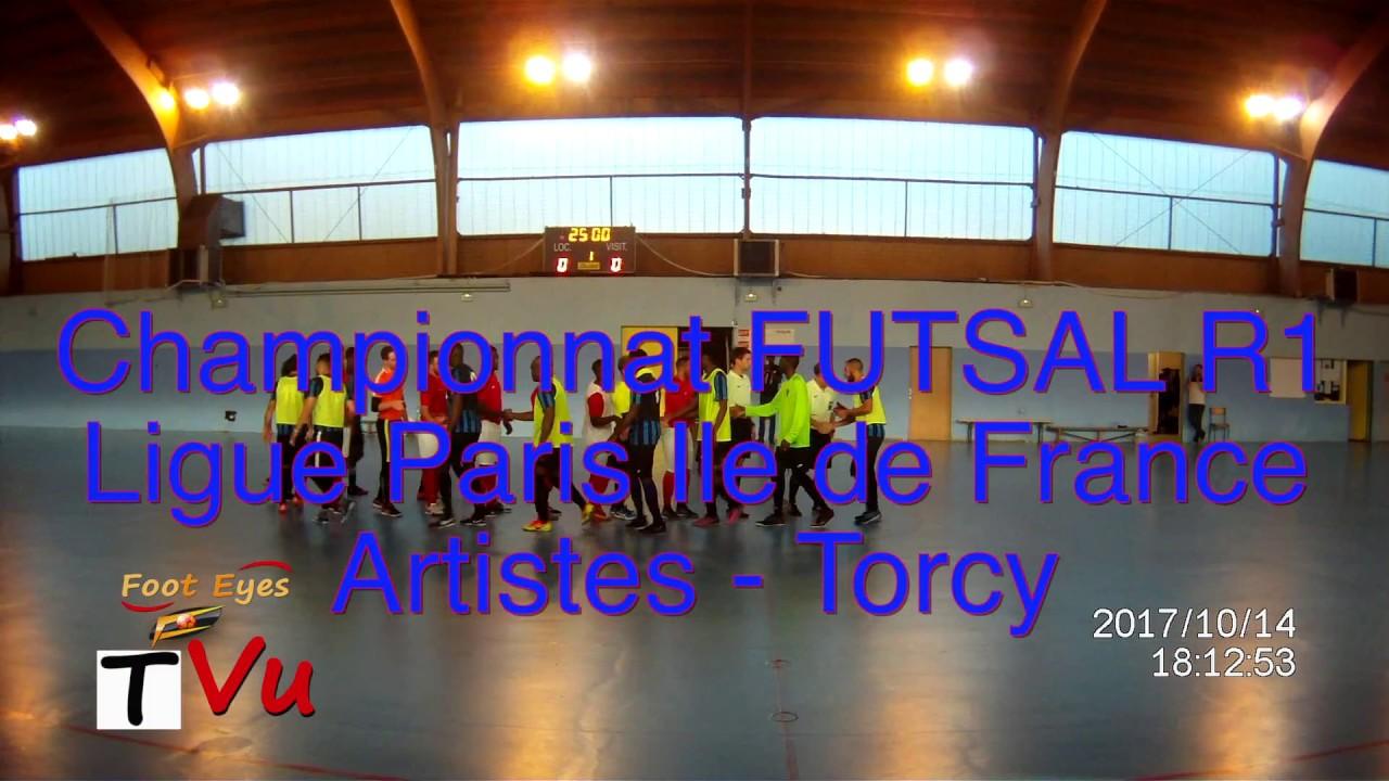 r u00e9sum u00e9 match championnat futsal r1 artistes vs torcy 14 10