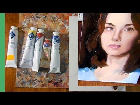 Портрет маслом, основы для новичка