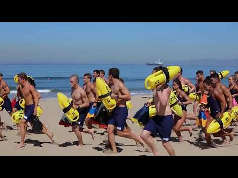 New Lifeguard Recruits Prepare To Hit The Beach
