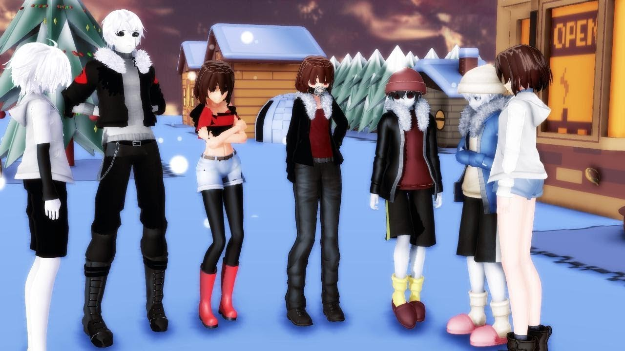 Chara And Mmd Undertale Frisk