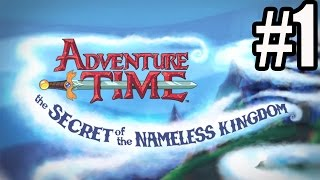 Adventure Time The Secret of the Nameless Kingdom Walkthrough Part 1