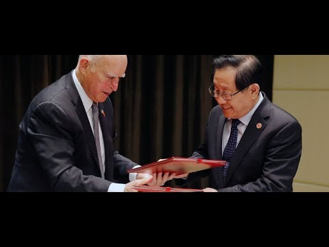 California, China sign climate deal after Trump's Paris exit