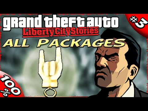GTA LCS [:3:] ALL Hidden Package Locations [100% Walkthrough]