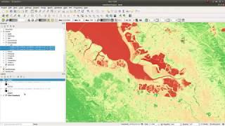 Calculate NDVI with QGIS v3.4