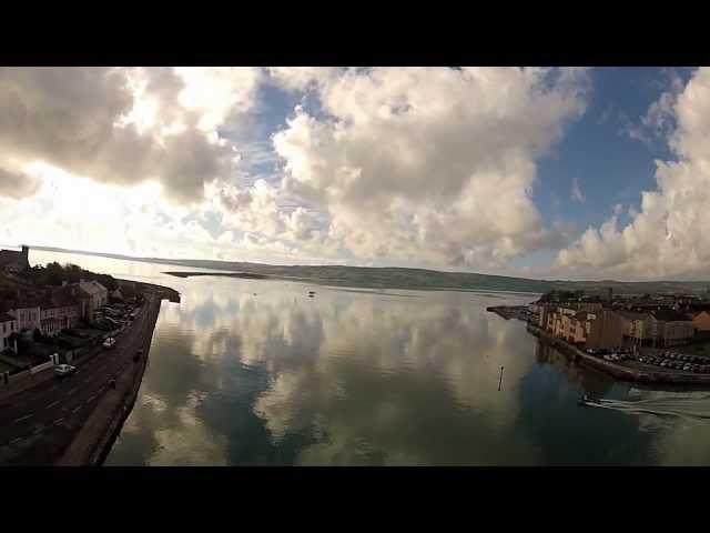 Dungarvan - Aerial view