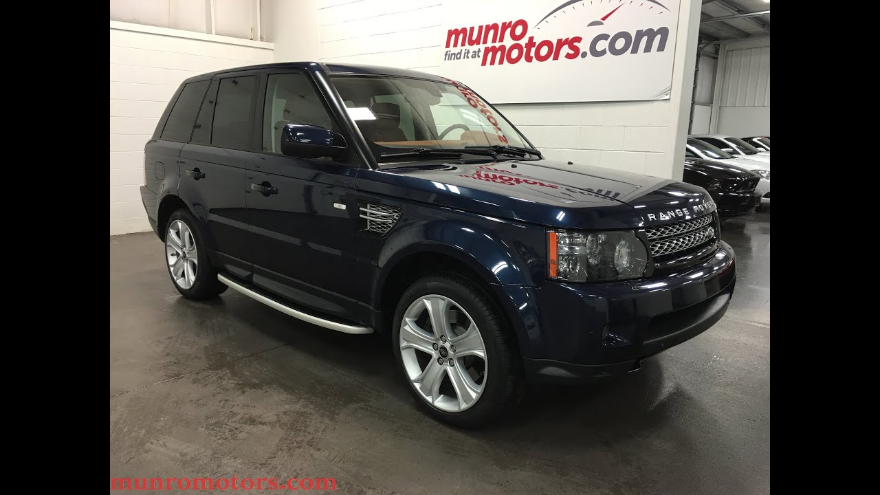 2013 Land Rover Range Rover SOLD Sport HSE LUXURY Baltic Blue Tan